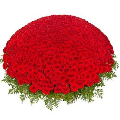 Купить на заказ 301  роза с доставкой в Каскелене
